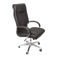CL820 EXECUTIVE PU VINYL CHAIR WITH ARMS