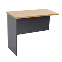RAPIDLINE RAPID WORKER DESK RETURN BEECH & CHERRY OFFICE FURNITURE