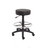 DRAFTING HEIGHT COUNTER STOOL VINYL SEAT