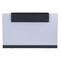 RAPIDLINE RAPID RECEPTION COUNTER OFFICE FURNITURE BRILLIANT WHITE 1800MM WIDE