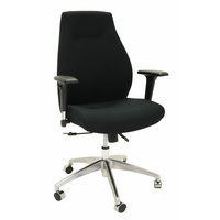SWIFT BLACK OPERATOR OFFICE CHAIR