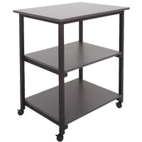 RAPIDLINE RAPID WORKER MOBILE 3 TIER TROLLEY IRONSTONE