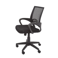 VESTA COMMERCIAL OR OFFICE BLACK MESH BACK CHAIR