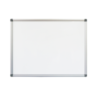 WALL MOUNTED WHITEBOARD ALUMINIUM FRAME INCLUDES PEN TRAY HOME OFFICE MESSAGE DISPLAY BOARD