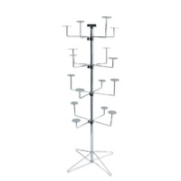 FLOOR DISPLAY SPINNER STAND HAT