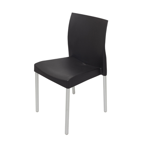LEO HOSPITALITY CHAIR [Colour: Black]