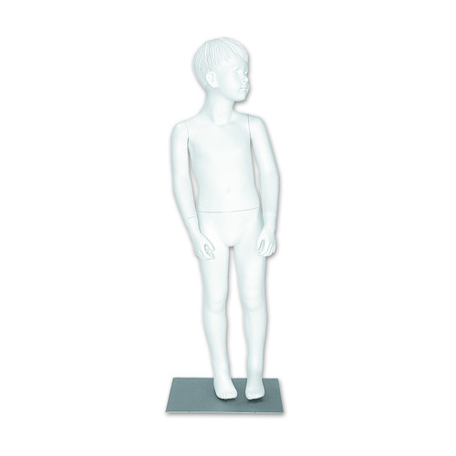 BOY/MALE FULL BODIED CHILD MANNEQUIN WHITE